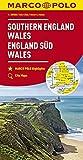 MARCO POLO Karte Großbritannien England Süd, Wales 1:300 000 (MARCO POLO Karten 1:300.000) - Collectif