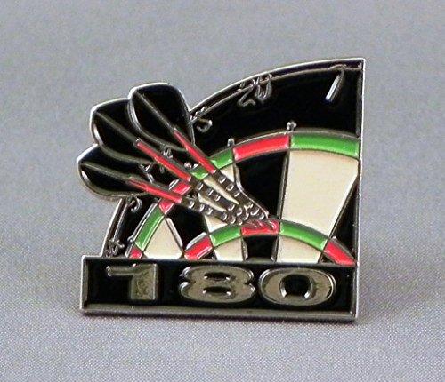 metal-enamel-pin-badge-brooch-dart-arrows-dartboard-180-throw-high-score