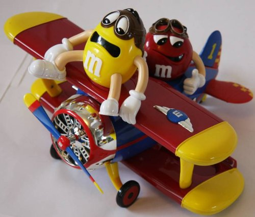 m-m-s-m-m-dispensador-barnstorming-rides-avion-avion-rojo-nuevo