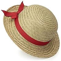 Legler Egmont Toys Sombrero de paja niña con lazo rojo