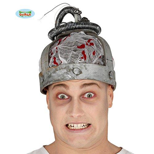 Elektrischer Helm Elektro Haube mit Licht und Ton -