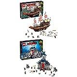 Lego Ninjago 70618 - Ninja-Flugsegler + Ultimativ ultimatives Tempel-Versteck