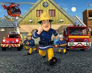 """Walltastic Poster papier peint """"Sam le pompier"""""""
