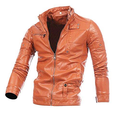 LANSKIRT Herren Jeansjacke Basic Stretch Jeans Jacke mit Stehkragen Übergangsjacke Sweatjacke Freizeitjacke Sommerjacke Pullover Slim Fit