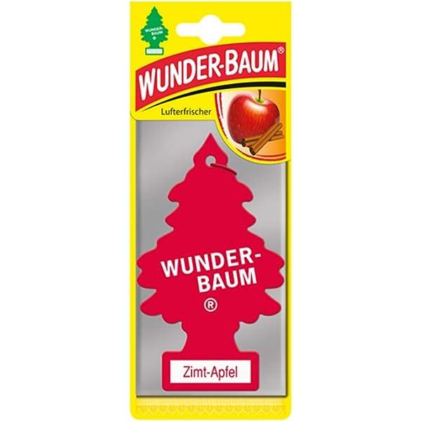 Wunderbaum 45837 Lufterfrischer Zimt Apfel Auto