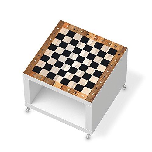 Möbeltattoo für IKEA Lack Beistelltisch mit Rollen | Bild Baby-zimmer Einrichtung Möbel | Ideen für Kinderzimmer Möbel Wohnung accesoire | Kids Kinder Spieltisch Schach