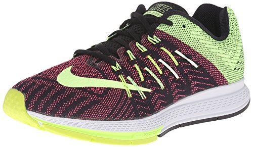 Nike Women Air Zoom Elite 8 Running Shoe Black/Ghost Green/Volt/Pnk Pow 9.5 B(M) US  available at amazon for Rs.4699