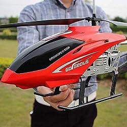 Ycco Drone RC Juguete para niños Regalos para niños adolescentes Cable de carga USB Helicóptero de control remoto Juguetes con sistema de estabilización LED Helicóptero RC para interiores / exteriores