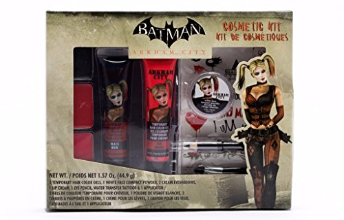 GBG BATMAN Arkham City Harley Quinn Makeup Cosmetic Kit