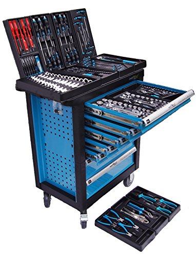 Werkstattwagen Werkzeugwagen Werkzeugkiste Werkzeugschrank XXL 7 Schubladen - 8