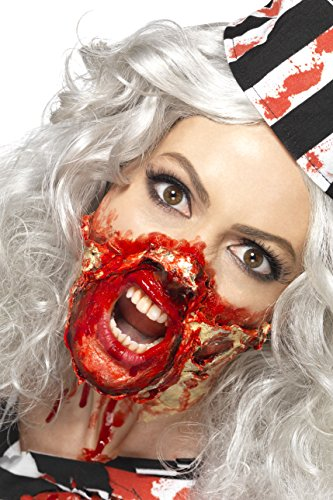 e Latex Make-Up, 29ml, Weiß, 44715 (Zombie Make Up Flüssig Latex)