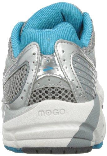Brooks - Scarpe sportive - Running, Donna argento (Silver/Primer Grey/Shadow/White /Caribbean Sea)
