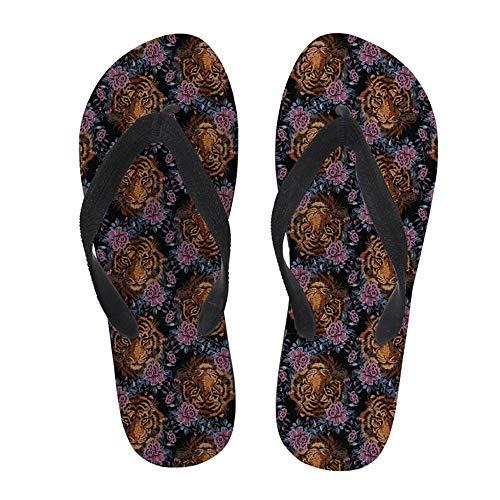 Zuyau ciabatte da spiaggia Uomo Infradito Male Slippers 3D Head Print Sandalen Lässig Flache Flip Flops Sommer Strand Schuhe Schöne Tanga Sandalen Pool Schuhe 9