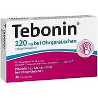 Tebonin bei Ohrgeräuschen 120 mg Tabletten, 30 St. preisvergleich bei billige-tabletten.eu