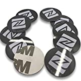 10x NFC coperchio in PVC adesivo, 25mm Disco rotondo, Black Label tag, NXP chip–Genuine sviluppato da NXP Semiconduttori,...