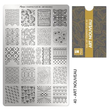 Moyra Frankreich Shop Offizielle–Moyra Stamping Flache Jugendstil