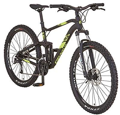 "REX Unisex– Erwachsene Graveler 9.6 MTB 27,5"" Mountainbike, schwarz matt, RH 48 cm"