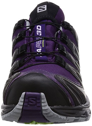 Salomon XA PRO 3D GTX Damen Traillaufschuhe Violett (Cosmic Purple/Black/Granny Green)