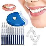 KOENGSANG Professionelles Teeth Whitening Kit für Zuhause – 5 starke LEDs zur schnellen Zahnaufhellung | Natürliches Gel aus organischen Peroxiden, Zahnweiß-Bleichsystem von Zahnärzten empfohlen