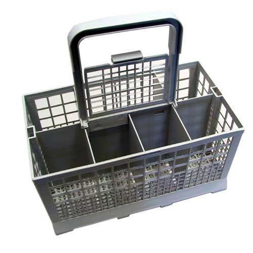PANIER A COUVERT + POIGNEE (24CMX13,3X12) 93X4357 pour lave vaisselle BRANDT - 3157527