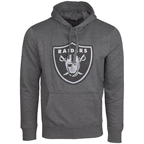 OAKLAND RAIDERS - NEW ERA HOODY - NFL TWO TONE - GRAPHITE (2 Hoody)