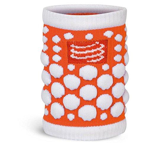 compress-porta-felpa-antitraspirante-3d-dots-fluo-bracciale-sport-band-jogging-arancione