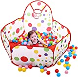 Toyshine-Colorful-Kids-Play-Zone-Tent-Multi-Color-Balls-Not-Included