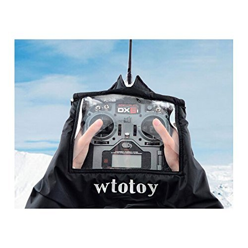 LeaningTech FPV Wilde Fernbedienung Windjacke RC Drone Transmitter Hand Warm gegen Kalt Handschuh Glove für Professionelle RC UAV Winter Outdoor Flug