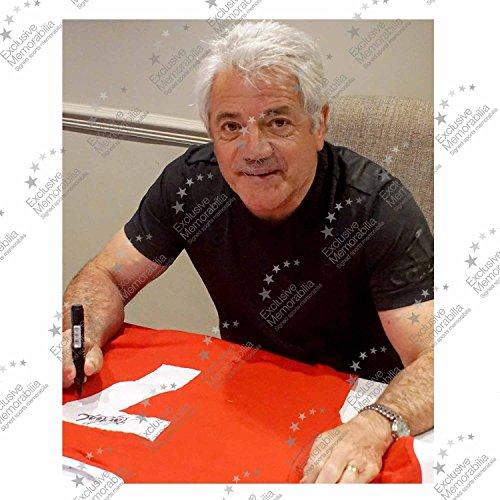 Exclusive Memorabilia Kevin Keegan Signed Liverpool 1973 Number Seven Football Shirt