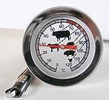 Fleischthermometer Bratenthermometer mit Köcher LT-101