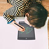 Edu Toys Kid's ABS and LCD Board Doodle Pad for Handwriting, Drawing and Painting (8.5-inch, Black)