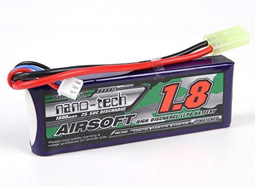 Turnigy nano-tech 1800mah 2S 25-50C Lipo Softair Akku Pack von Modellbau Eibl