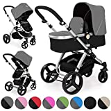 Best Travel Systems - Froggy pushchair pram MAGICA baby stroller buggy 2in1 Review
