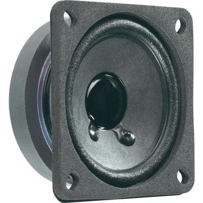 \'Visaton vs-frs7/8S–Lautsprecher (6,35cm (2,5), 8W, 15W, 120–20.000Hz, 8Ohm, schwarz)