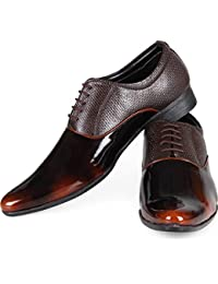 ROADSTAG Genuine Leather Lace-up Formal Shoes for Men