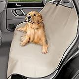 fbartl 600D Oxford Autositzbezüge, Wasserdichte Rückbank, Autoinnenraum, Reisezubehör, Auto-Sitzbezüge für Haustierhunde