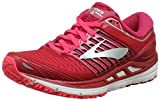 Brooks Women's Transcend 5 Running Shoes, Multicolour Pink/Silver 699, 7.5 UK
