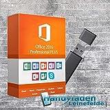 MS Office 2016 Professional Plus Lizenzschlüssel mit USB-Stick von Handyladen-Leinefelde 32/64 Bit Deutsche Version -