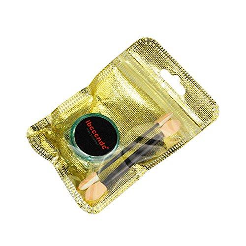 Sunenjoy Miroir Holographique Laser Nail Art Briller Poudre Arc en ciel Chrome Sirène Pigment Polonais Poussière