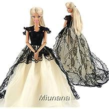 Vestir a barbie vestidos de noche
