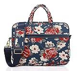 Best kayond Messenger Bags - KAYOND Rose Patten Canvas Laptop Shoulder Messenger Bag Review