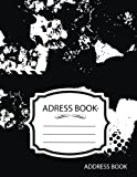 Address Book : Underground Map Journal:Name Email Mobile Home Work Fax Number: Big Alphabetical Organizer Journal Notebook.Large Print, Font, 8.5 by 11,Over 300 Spaces