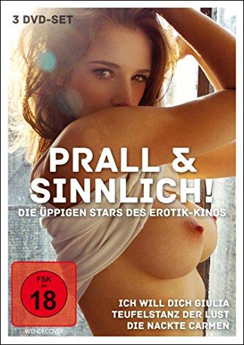 Prall und Sinnlich - Die üppigen Stars des Erotik-Kinos [3 DVDs]