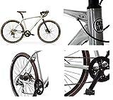 Radio Deejay Bicicletta Bici Gravel Bike by Alluminio con Freni a Disco/Originale Made by