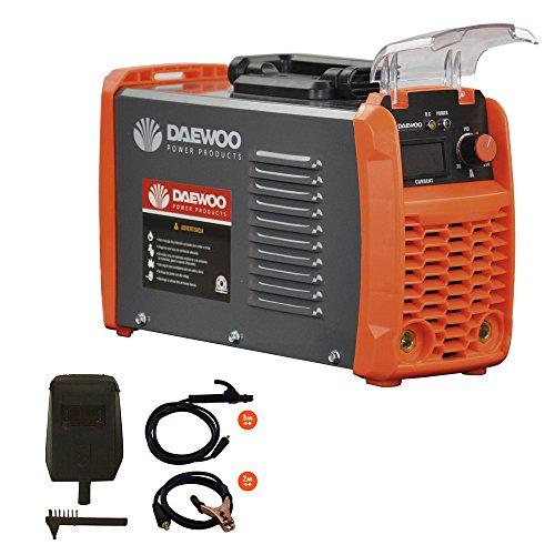 Daewoo Power Products DW160MMA Soldador, Negro y Naranja, Peque&ntildeo