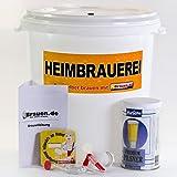 Bierbrauset Pils - Pilsner selber brauen (12 - 20 Liter) – Ideal für Brauset Anfänger oder als Bier Geschenk, inklusive Brauanleitung