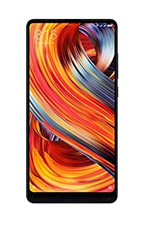 "Xiaomi Mi Mix 2 - Smartphone libre de 5.99"" (4G, WiFi, Bluetooth 5.0, NFC, 835 2.45 GHz, memoria interna de 64 GB, RAM de 6 GB, cámara de 12 MP, Android MIUI, Dual SIM, versión española) negro (B076VLN14J) 