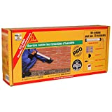 SikaMur InjectoCream 100 - Traitement contre les remontées capillaires / remontées d'humidité dans les murs - Kit 20m² - blanc