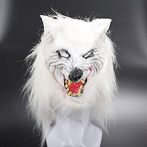 Halloween Maske, HimanJie Fuchs Maske halloween Latex Mask Halloween Mask Toys Decoration (Gas Maske Mit Kostüme Halloween)