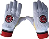 Nd Wicket Keeping Inner Chamois Padded Gloves Cricket Wk Inners Size Mens